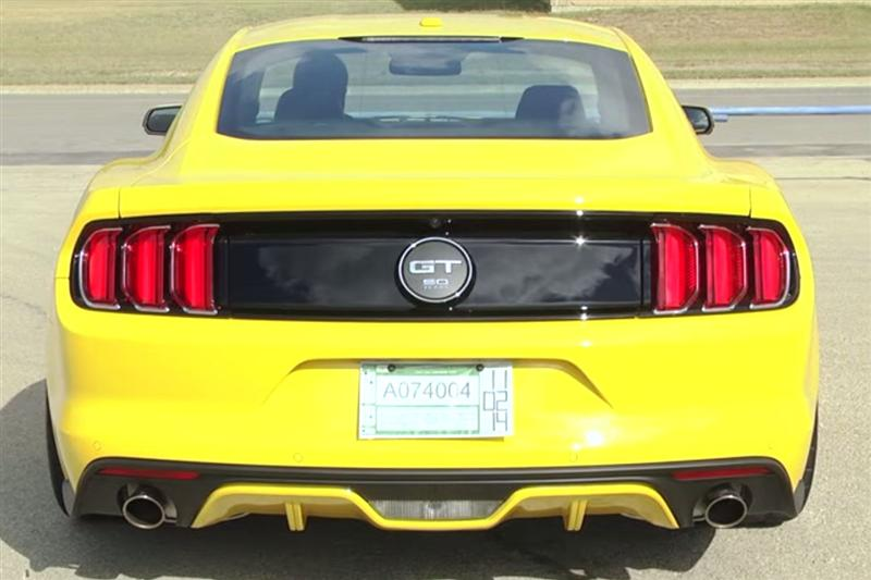 2015 Mustang GT Stock Exhaust