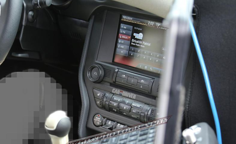 2015 Mustang Interior Spy Shots - s550 mustang quarter window