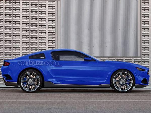 Best 2015 Mustang Renderings!! - 2015 Mustang Rendering carbuzz