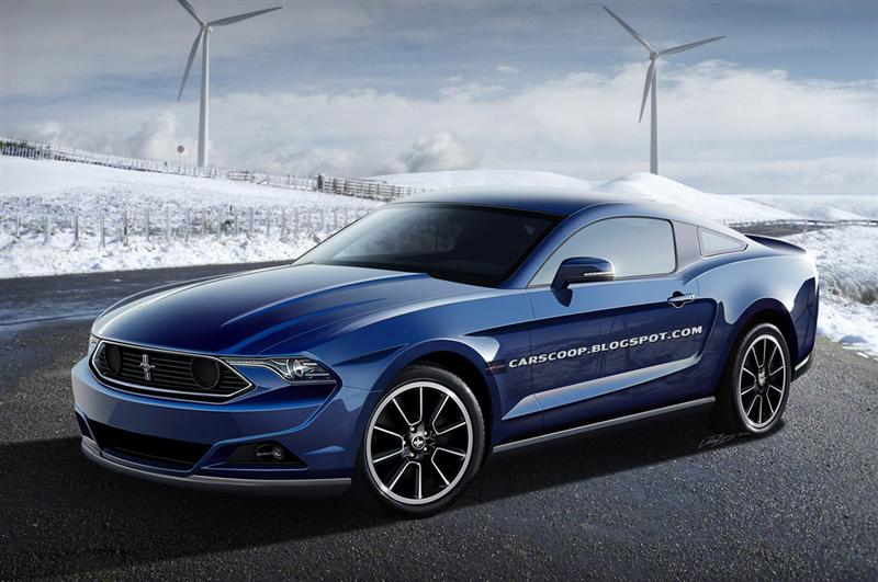 More 2015 Mustang (S550) Renderings!! - 2015 mustang drawing