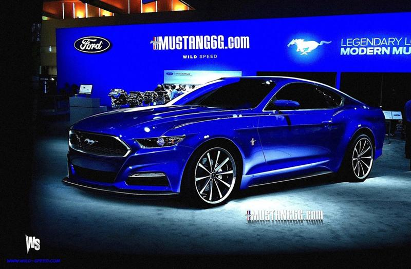 More 2015 Mustang (S550) Renderings!! - 2015 mustang s550