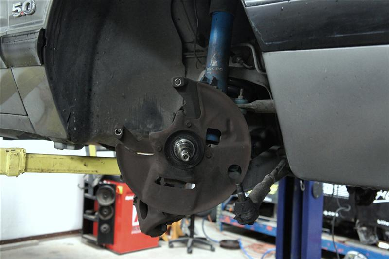 Fox Body Mustang Disc Brake Conversion Installation: SVE 5 Lug Kit - Mustang Disc Brake Conversion Fox Body